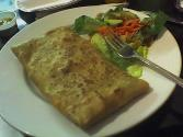 Creamed Chicken Crepes