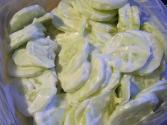Creamy Cucumber Salad