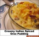 Creamy Orzo Pudding