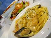 Creamy Seafood Pasta`