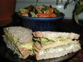 Cucumber And Carrot Sandwiches