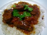 Curried Lamb With Raisin