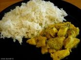 Curried Rice With Zucchini