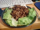 Curry Beef In Lettuce