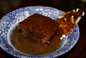 Upside Down Date Pudding