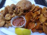 Deep-fat Fried Oysters