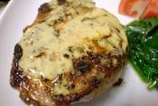 Broiled Dijon Pork Chops