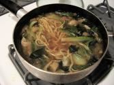 Dried Bok Choy Soup