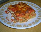 Easy Microwaved Lasagna