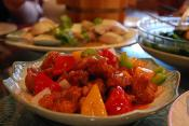 Sweet And Sour Pork Using Chicken Bouillon