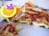 Egg And Zucchini Crepes