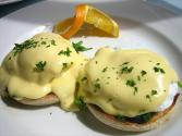 Eggs Florentine With Cream