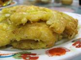 Chicken Egg Foo Yong With Chinese Cabbage