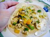 Fajitas With Grilled Vegetables
