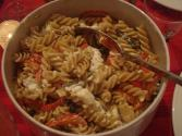 Peppery Pasta With Feta Cheese