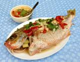 Fish Steamed With Lemon