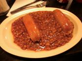 Microwaved Franks And Beans