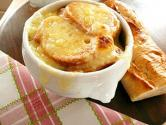 French Onion Soup With Cheese Toast