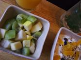 Fresh Fruit With Mint-balsamic Tea