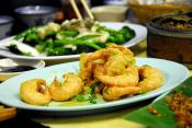 Fried Prawns  In Batter