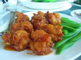Fried Prawns With Tomato Sauce