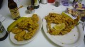 Fried Soft-shell Crabs