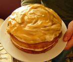 Frosted Butterscotch Cake