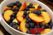 Wheat And Oat Fruit Cobbler