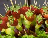 Spicy Fruit Kabobs