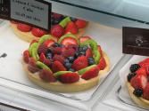 Fruit Tart With Pasta Cream