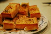 Peanut Butter Garlic Bread
