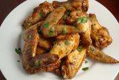 Maple Garlic Chicken Wings