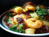 Garlic Chili Prawns
