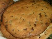 Giant Double Chocolate Chip Cookies