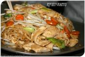 Chicken And Noodles In Sesame Ginger Dressing