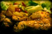 Portuguese Glazed Chicken Breasts