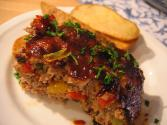Spicy Glazed Meat Loaf