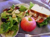 Gorgonzola Apple And Walnut Salad
