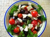 Greek Salad In Peppers