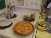 Grandma's Green Apple Pie