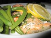 Prawn And Green Bean Salad With Dill Sauce