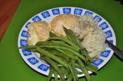 Green Beans With Gruyere