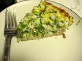 Cheesy Green Onion Quiche