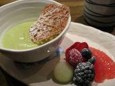 Coconut Green Tea Mousse