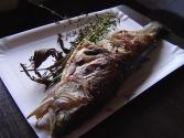 Grilled Trout With Lemon Juice