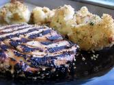 Grilled Tuna Steaks With Fruit & Teriyaki Sauce
