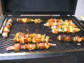 Grilled Veggie Kebabs