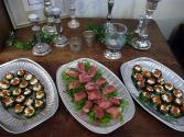 Ham And Cheese Canapes