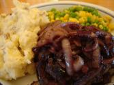 Hamburger Steak With Onions