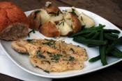 Herb Buttered Fish Fillets